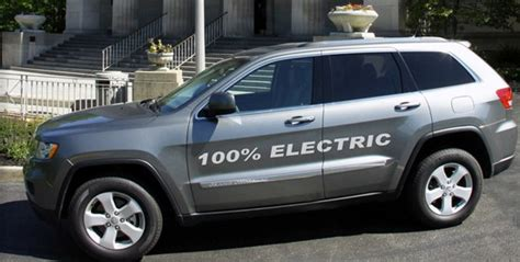 amp  bring  electric jeep grand cherokee  detroit