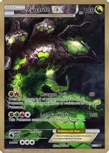 Pokemon Zygarde Ex Full Art