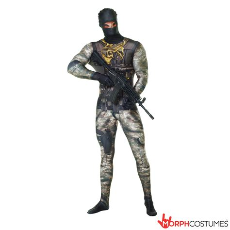 army faux real morphsuit morph costumes