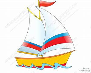 Cartoon Boat | Cartoon Ship Design - PSD Download ...