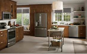 Delectable White Kitchen Cabinets Slate Floor Gallery Slate Country Kitchen Photo Design GE Appliances