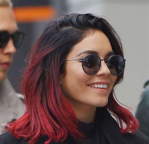 braune haare mit roten strähnen die besten 25 rotes haar mit str 228 hnen ideen auf kastanienbraunes haar mit