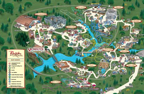 Busch Gardens In Williamsburgwent There Lots When We