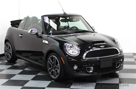 Mini Cooper Convertible Picture by 2011 Used Mini Cooper Convertible Certified Cooper S