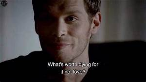 Mikaelson Famil... Mikaelson Quotes