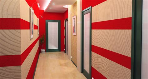 d 233 co peinture couloir entree