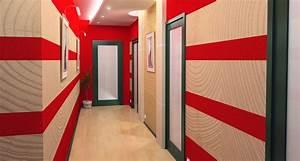 Idee Deco Couloir Peinture : d co peinture couloir entree ~ Melissatoandfro.com Idées de Décoration