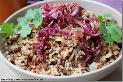 cuisine egyptienne recette au riz les joyaux de sherazade