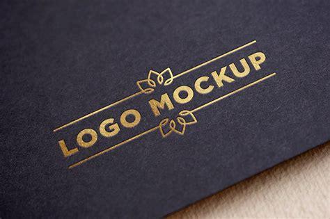 Logo Mockup Gold Logo Mockup Product Mockups Creative Market
