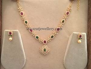 20 Grams Colorful Simple Necklace - Jewellery Designs