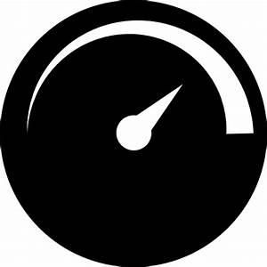 Speedometer simple symbol - Free Tools and utensils icons