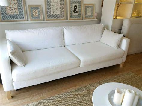 Ikea Karlstad Sofa Bed With Storage In Blekinge White