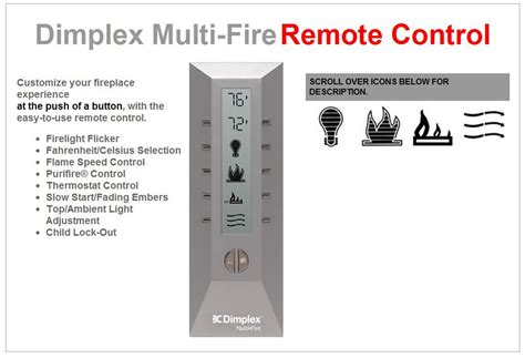electric fireplace remote  working troubleshooting