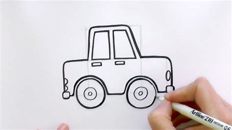 draw  car youtube