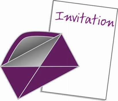 Invitation Clipart Clip Vector Borders Transparent Clker