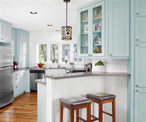 kitchen peninsula cabinets remodelaholic popular kitchen layouts and how to use them 2432