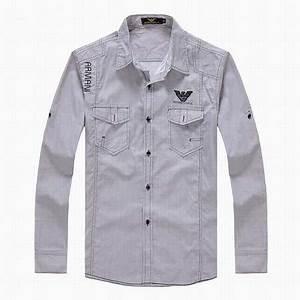 Marque De Polo Homme Luxe : chemise homme de luxe chemise a carreaux armani homme chemise marque solde ~ Nature-et-papiers.com Idées de Décoration