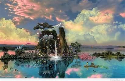 Fantasy Wallpapers Backgrounds Nature Imagination Awesome Desktop