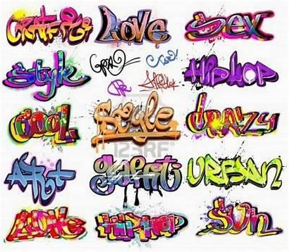 Graffiti Words Cool Styles Urban Creator Vector