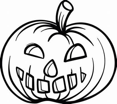 Pumpkin Coloring Pages Pumpkins Simple Printable Halloween