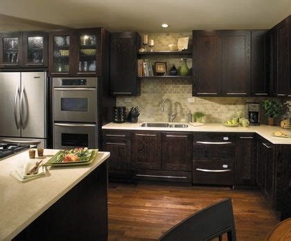 cherry java cabinets the look of the java cabinets mike kitchen