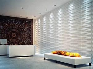 O papel de parede 3D está em alta pois agrega valor e ...