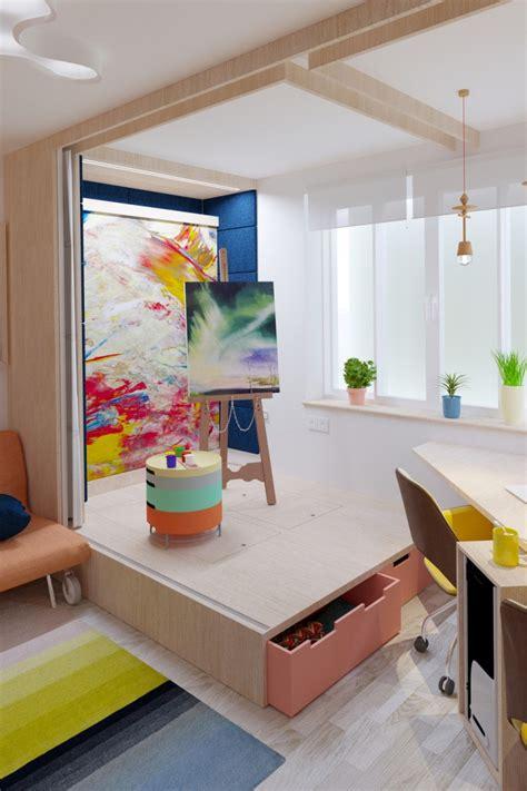 chambre studio lit estrade chambre studio