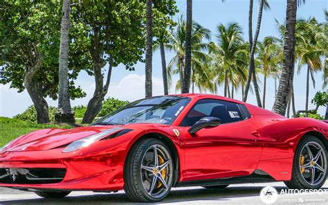 The vehicle's current condition may mean that a feature described below is no longer. Ferrari 458 Spider - 9 April 2020 - Autogespot