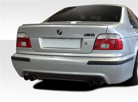 9703 Bmw 5 Series E39 4dr Duraflex M5 Look Rear Bumper