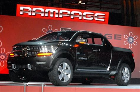 2018 Ram Rampage Could Steal The Show From Ford Ranger