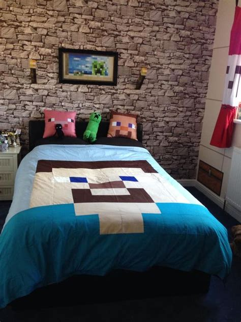 minecraft bedding unofficial minecraft inspired bedding made by i m in