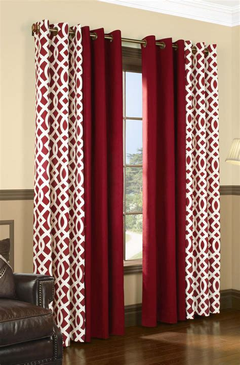 trellis pattern curtains trellis insulated grommet top curtains thermal drapes