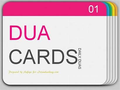 Dua Cards Daily Printable Card Islam Printables
