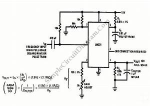 Lm331 Frequency To Voltage Converter Circuit Diagram World