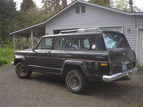 1977 jeep cherokee chief buy used 1977 jeep cherokee chief sport 2 door with 360 4