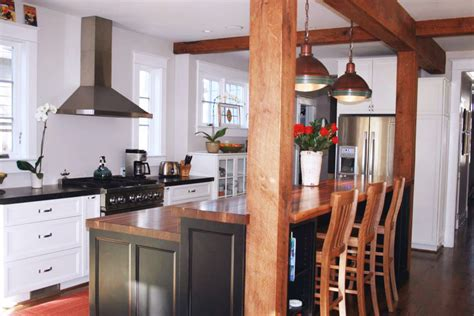 kitchen island with bar top kitchen island bar ideas with grothouse wood surfaces