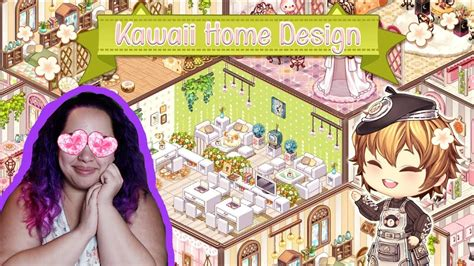 kawaii home design  room decorating app game youtube