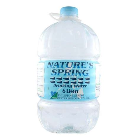 Kids Sports Room Decor by Nature S Spring Drinking Water 6 Liters