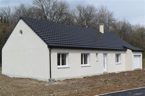 modele maison plain pied 3 chambres construction maison plain pied loélie construction