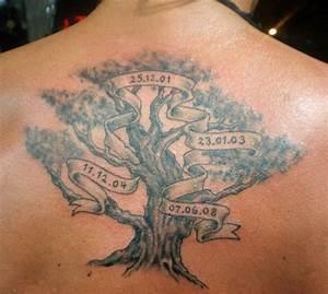 Family Tree Tattoo Designs - Tattoos For Men   Everyday ...