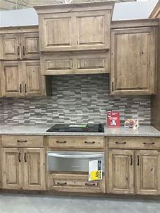 best 25 knotty alder kitchen ideas on pinterest With kitchen cabinets lowes with rustic wall art ideas