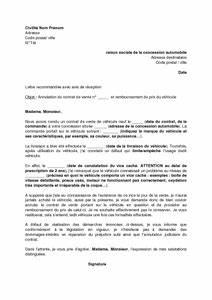 Contrat De Vente Voiture : lettre d 39 annulation du contrat de vente d 39 un v hicule neuf suite la d couverte d 39 un vice cach ~ Medecine-chirurgie-esthetiques.com Avis de Voitures