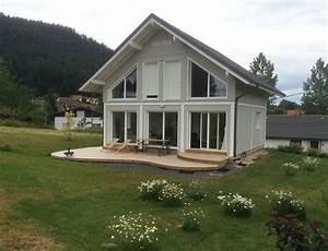 Maison a ossature bois avec bardage canexel nos maisons for Energie d une maison 8 maison 224 ossature bois avec bardage canexel nos maisons
