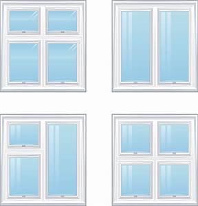 Realistic windows and doors vector Free Vector / 4Vector