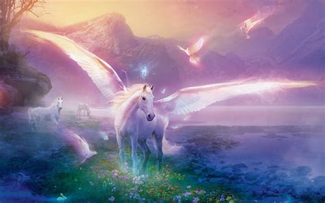 unicorn backgrounds wallpaper cave