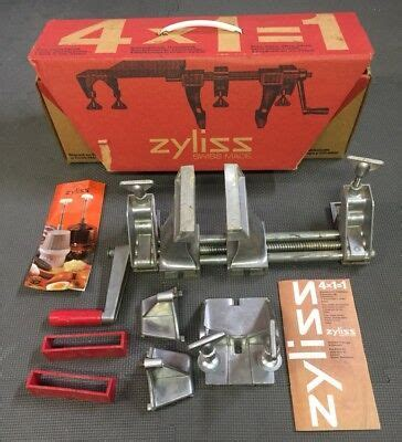 vintage zyliss vise clamp press    swiss