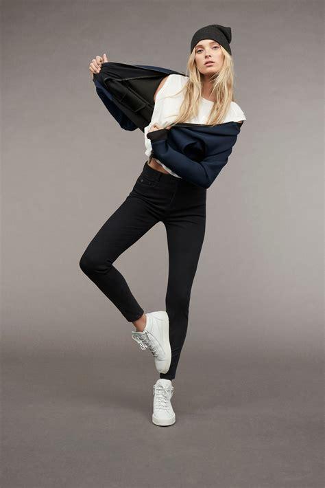 mavi jeans elsa hosk  indigo move collection