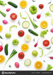 Wallpaper Abstract Composition Fruits Vegetables Food ...