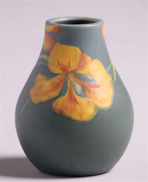Rookwood Painted Mat Poppy Vase Henrietta Wilcox 1901