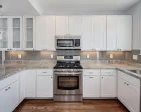 Houzz Kitchen Tile Backsplash Grey Glass Tile Backsplash Houzz
